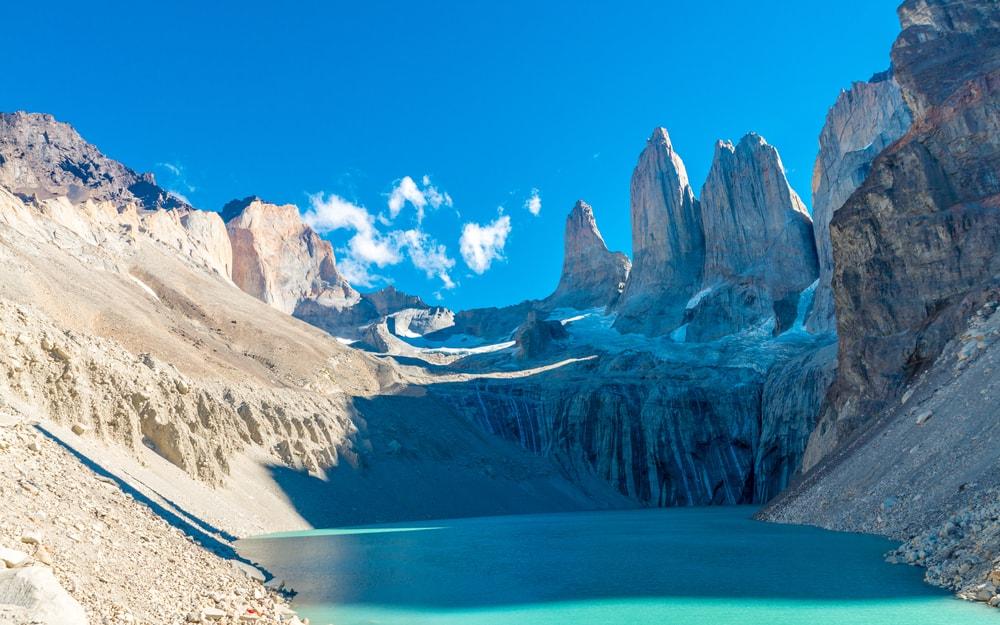 Chili La Patagonie Parc Torres Del Paine Glaciers